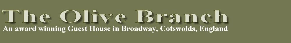 Broadway Cotswolds UK, The Olive Branch guest house